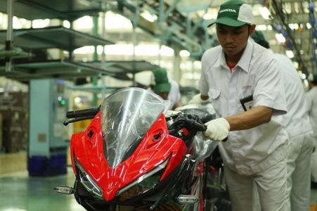 Produksi New CBR150R Facelift