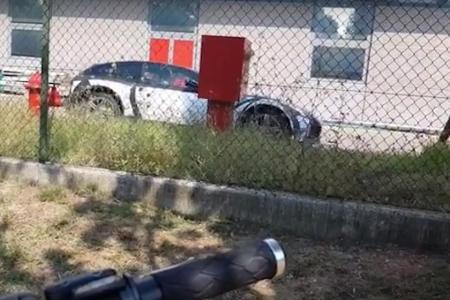 Spyshot Ferrari SUV - Purosangue