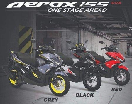 Bocoran warna baru Aerox 155 (2)
