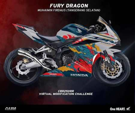 CBR250RR Virtual Modif Contest