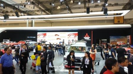 Booth Mitsubishi di GIIAS 2018