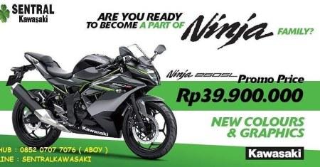 Kawasaki Ninja 250SL Batam