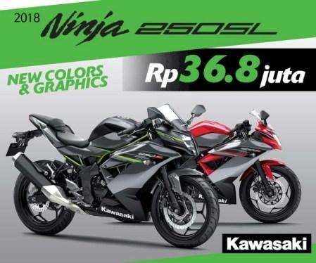Harga Promo Ninja 250SL