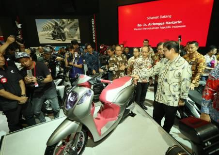 Menteri Perindustrian - Konsep Skutik Honda