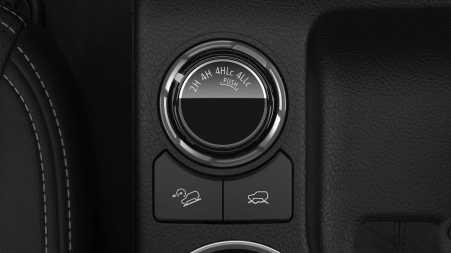 Pilihan mode 4WD Mitsubishi Triton Facelift 2019