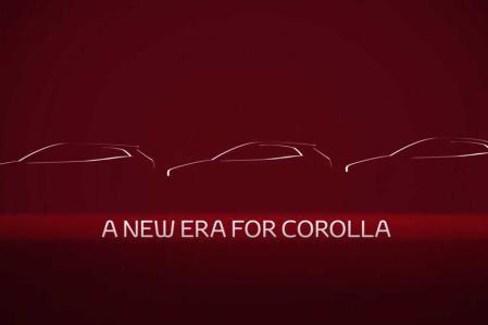 Teaser Corolla Next Gen