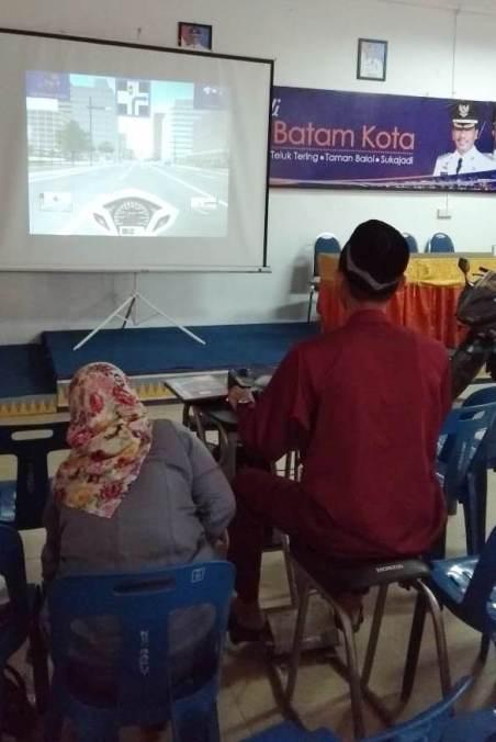 Acara Edukasi Safety Riding Honda Capella di Kecamatan Batam Kota