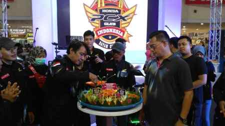 Deklarasi Honda PCX Club Indonesia Chapter Batam