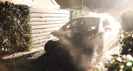 Jaguar I-PACE Terbakar di Belanda