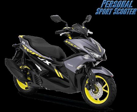 Yamaha Aerox Warna Baru 2019 (2)