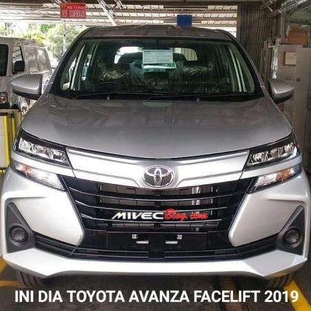 Tampang Avanza Facelift 2019