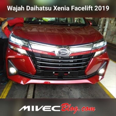 Tampang Xenia Facelift 2019