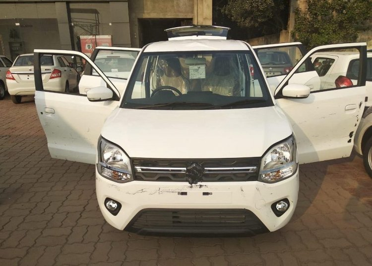 Bocoran Suzuki Wagon R 2019 - Headlamp bertingkat?