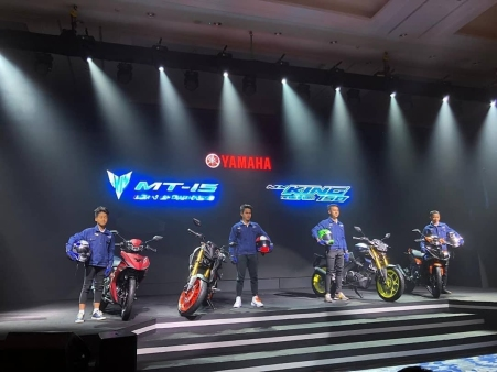 Launching Yamaha MT-15 Indonesia