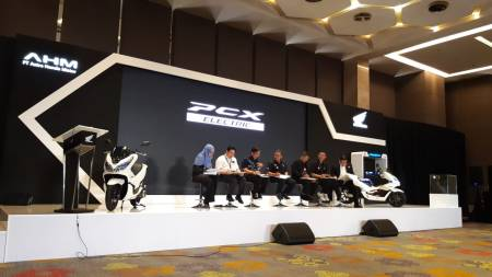 Launching Honda PCX Electric Indonesia