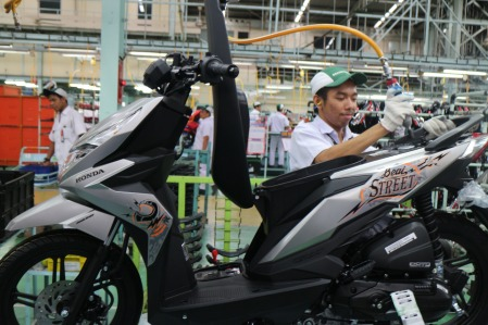 New Honda Beat Baru