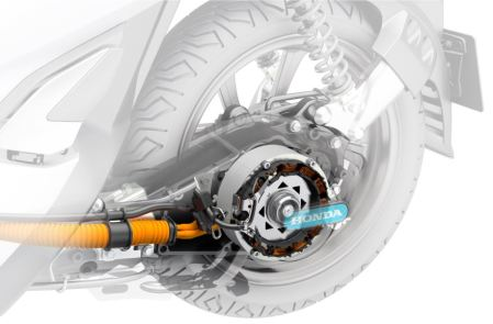 """Mesin"" Honda PCX Electric"