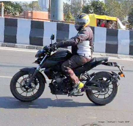 Spyshot Yamaha MT-15 India