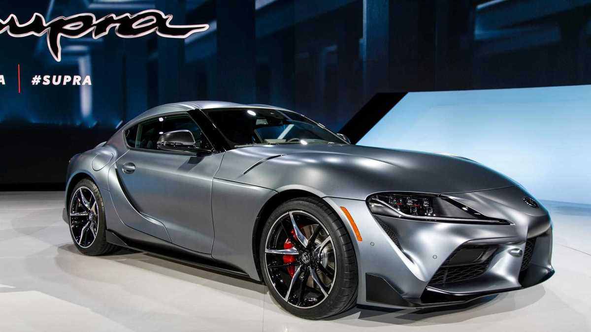 Launching aToyota Supra 2020
