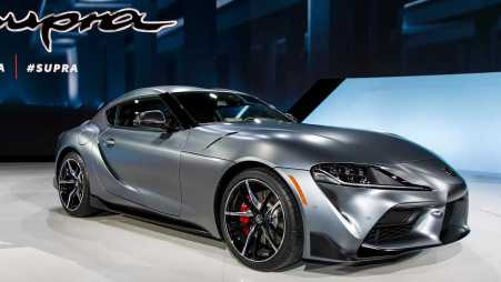Launching Toyota Supra 2020