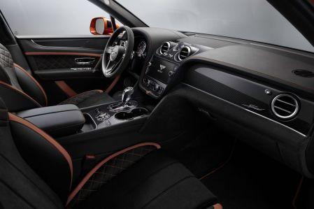 Interior Bentley Bentayga Speed