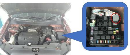 Electrical Power Control Relay Outlander Sport