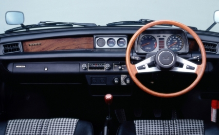 Dashboard Honda Civic 1978