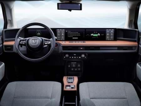 Dashboard Honda E Prototype