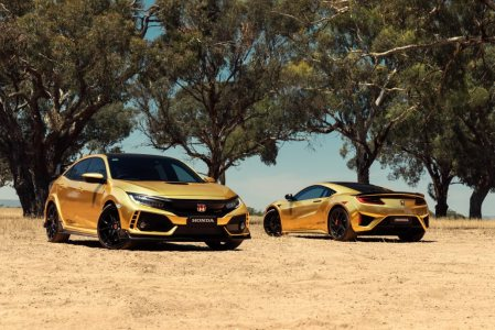 NSX Civic Type R CBR Warna Emas