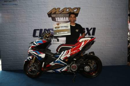 Gamma, Pemenang Kategori Master Class Aerox 155