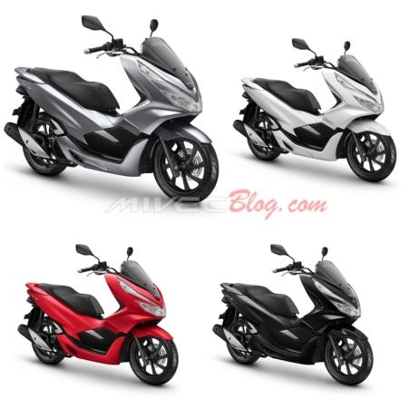 Pilihan Warna Baru Honda PCX