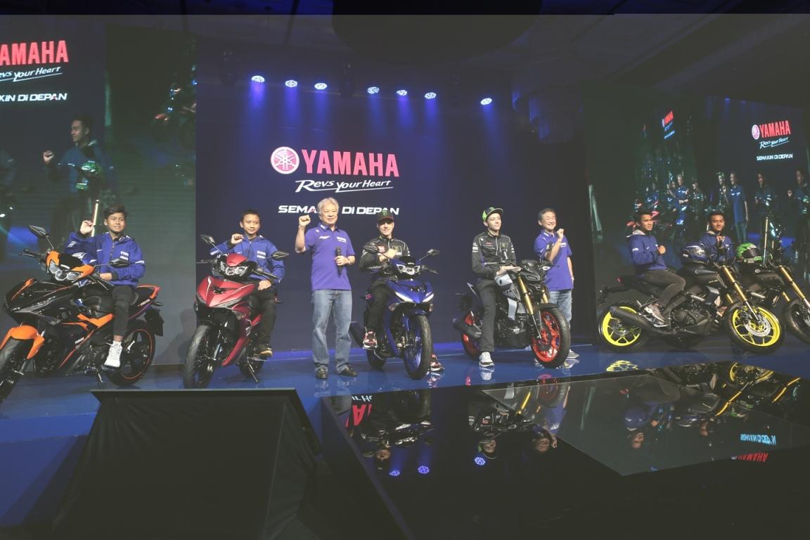 Yamaha MT-15 Dan New MX-King Dirilis Bersama Rossi