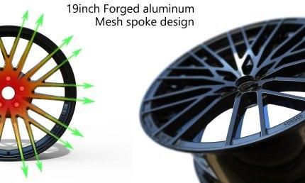 Velg 19 inci alumunium forged
