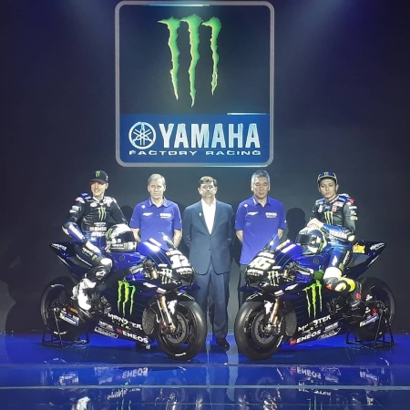 Monster Energy Yamaha MotoGP Team 2019