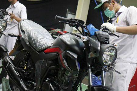 New Honda CB150 Verza Warna Doff Baru