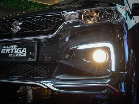 LED DRL pada housing foglamp All New Ertiga Suzuki Sport