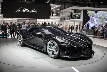 Bugatti La Voiture Noire atau Mobil Hitam