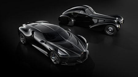 Bugatti La Voiture Noire, versi modern dari Type 57 SC Atlantic