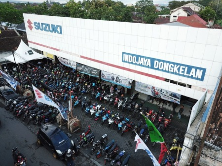 Suzuki Saturday Night Ride - Jogja