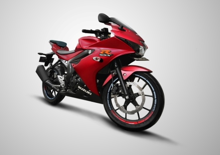 GSX-R150 Matt Summer Red