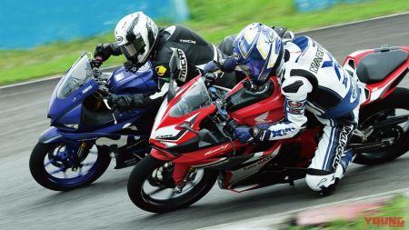 New R25 vs CBR250RR di Sentul - Young Machine
