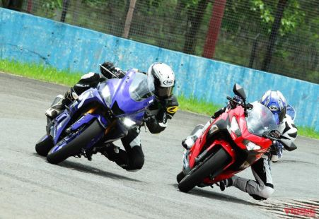 New R25 vs New Ninja 250 di Sentul - Young Machine