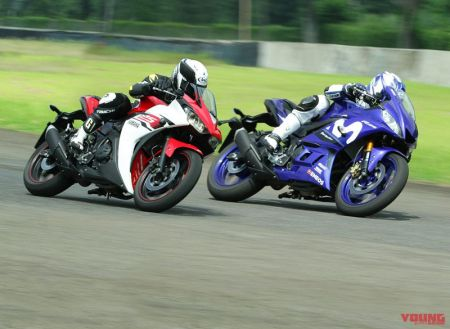 Old R25 vs New R25 di Sentul - Young Machine