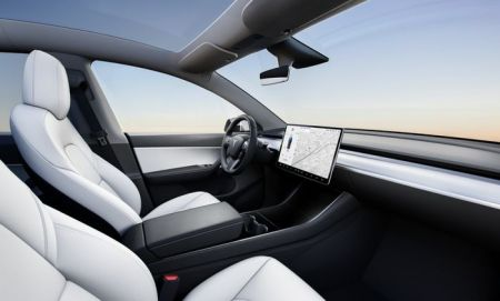 Tesla Model Y Dashboard