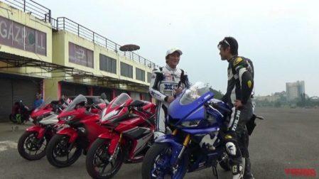 Young Machine Tes Motor Sport 250cc di Sentul