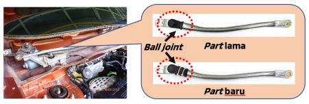 Front Wiper Link Ball Joint