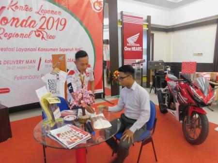 Kontes Layanan Honda CDN Riau 2019