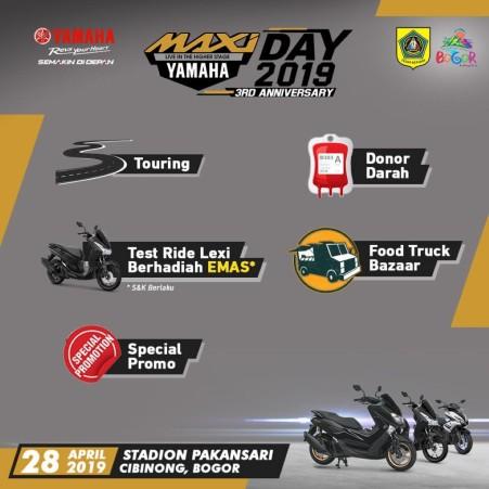 Beragam Acara di MAXI Yamaha Day