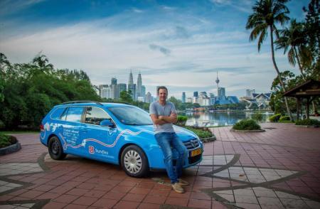 Wiebe Wakker Sukses Berpetualang 95.000 km dengan mobil listrik