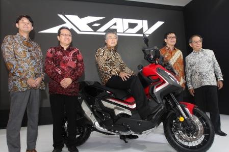 Launching Honda X-ADV di IIMS 2019